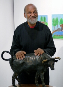 Alonzo at the  Access Gallery 2015